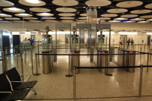 facial recognition biometrics improves airport security