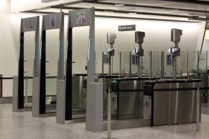 biometric smart gates help increase airport security