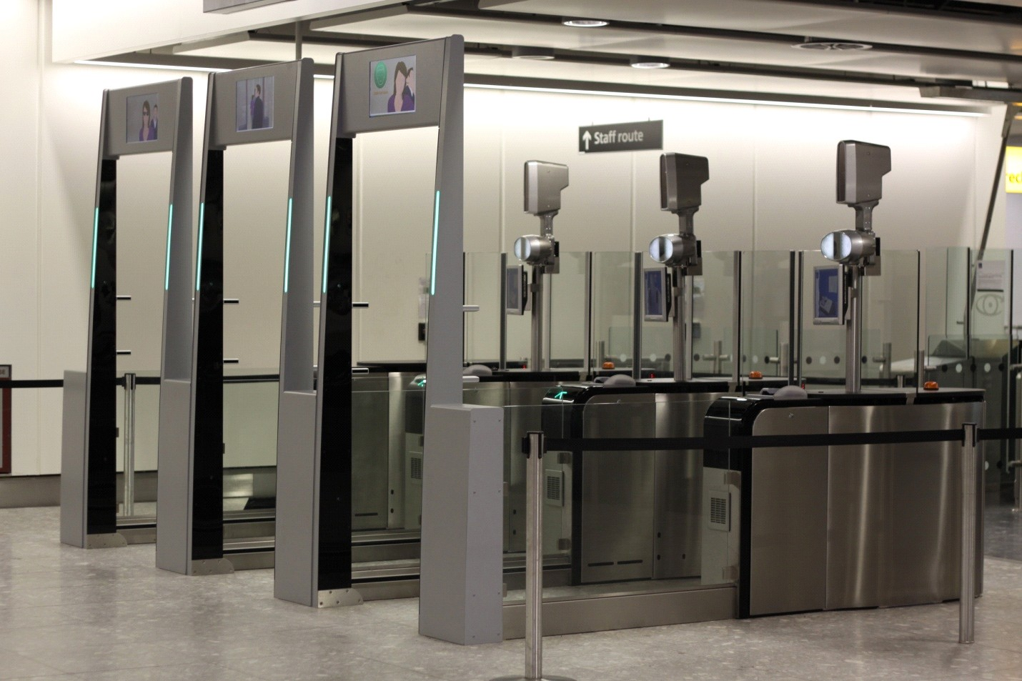 Are biometric smart gates the future of airport security