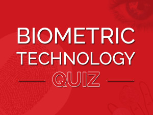 biometric identification technology educational quiz