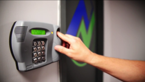 Biometric access control for employee authorization
