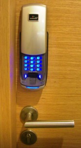 biometric lock increases home security