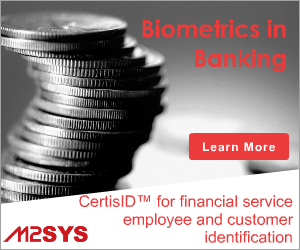 M2SYS CertisID™ Financial Services Biometric Identification Solution