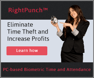 Affordable Biometric Time Clock Software for Kronos and ADP