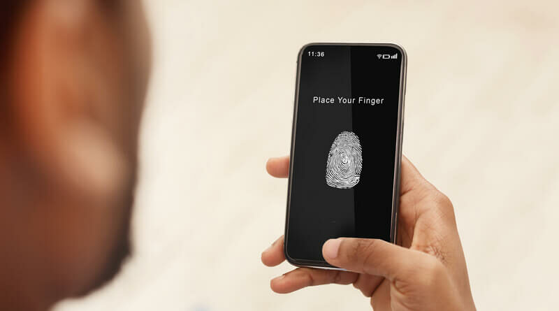 Mobile apps for biometric machine