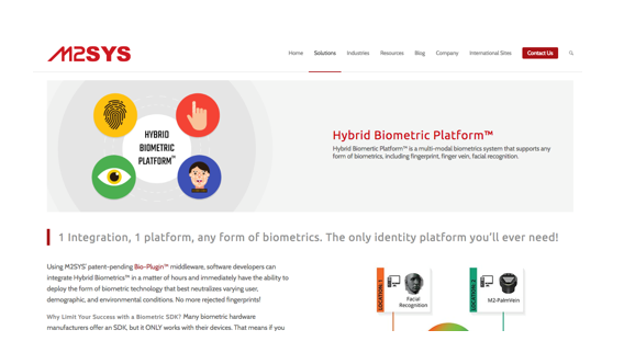 M2SYS - M2SYS Blog On Biometric Technology