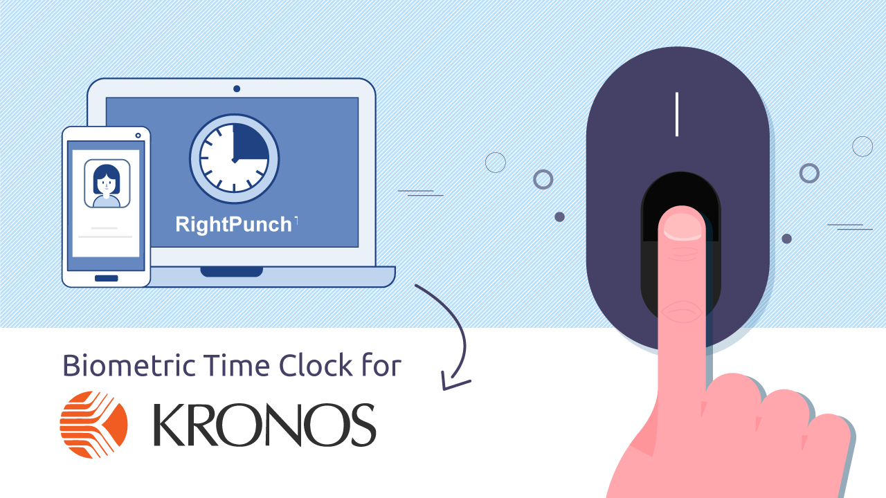 Affordable-Biometric-Time-Clock-for-Kronos