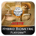 Hybrid Biometric Platform™ is a multi-modal biometrics system that supports fingerprint, finger vein, palm vein, and iris recognition.