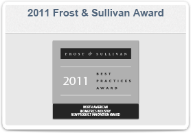 M2SYS-Frost & Sullivan Award in 2011