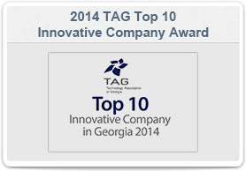 M2SYS-TAG Top 10 Innovative Company in Georgia 2014