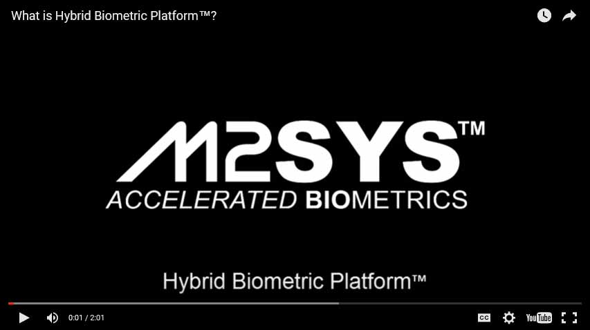 hybrid biometric platform video