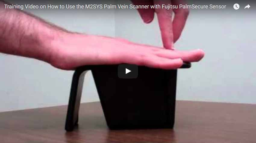 PalmVein™ scanner is the ideal biometric recognition device