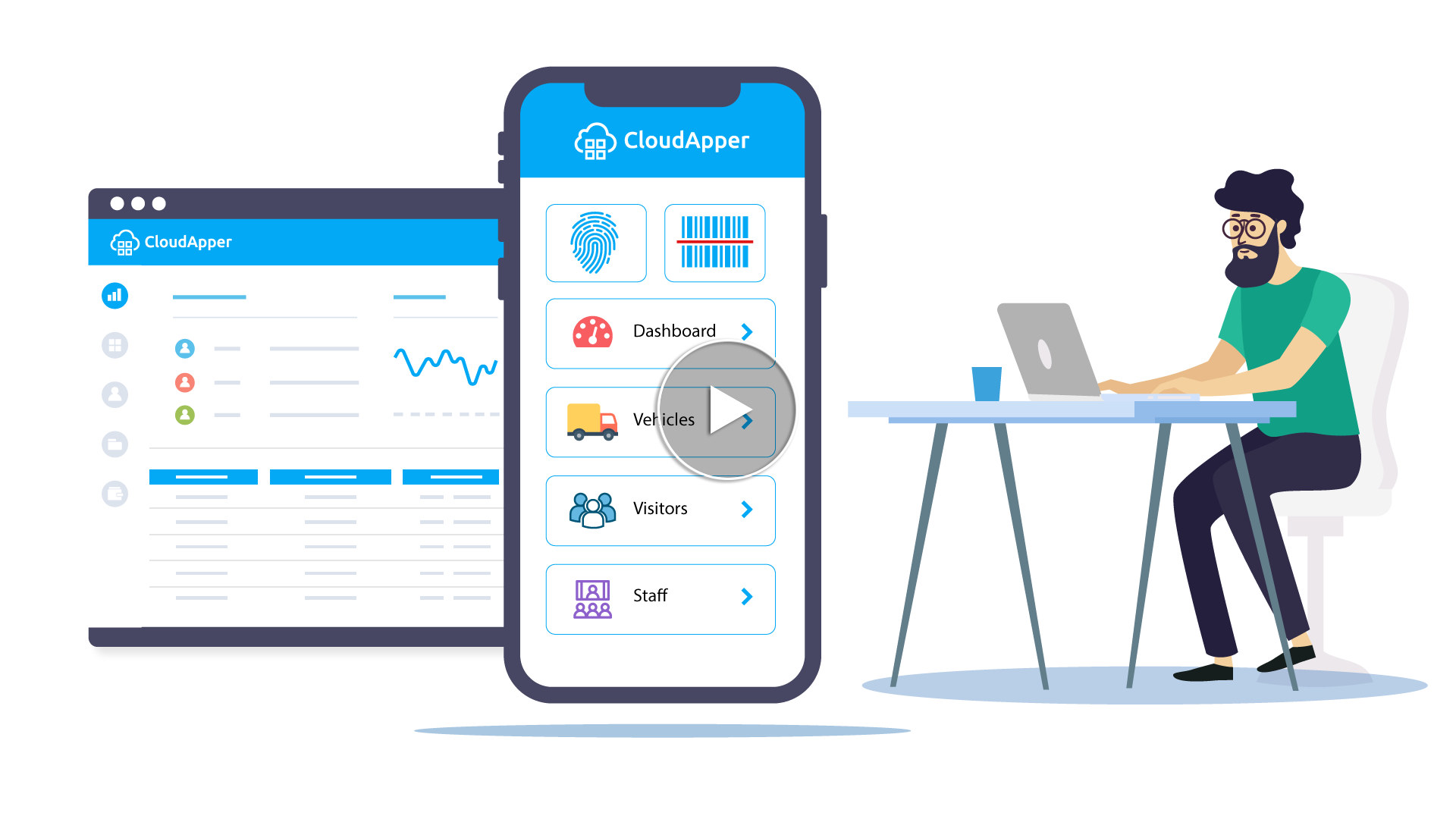 Video cloudApper Rapid Cloud Software Development Toolkit