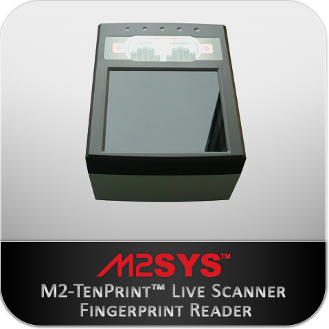 M2-Livescan Ten Print fingerprint reader