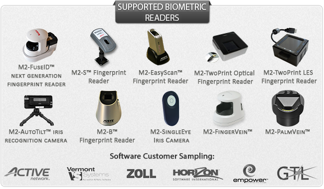 Supported Biometric Readers