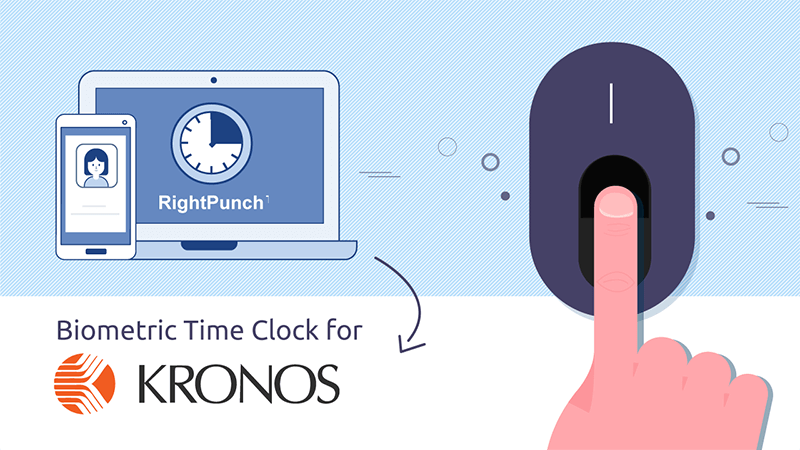 Affordable Kronos Biometric Time Clock Software for PC & Smartphone