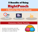 infographics-5-benefits-of-using-rightpunch-a-biometric-time-clock-for-kronos