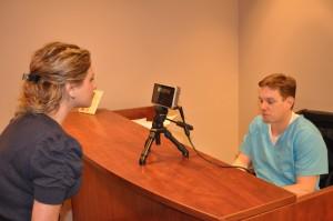 Healthcare biometrics iris patient identificaiton system