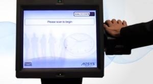 Using palm vein biometrics for workforce management