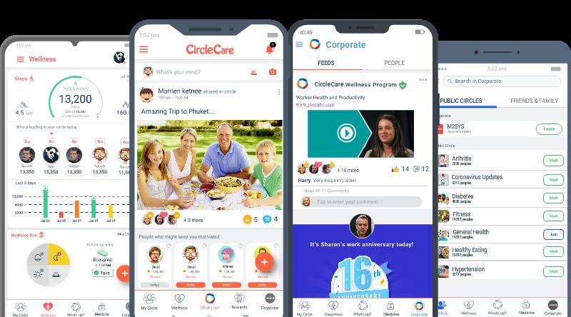 circlecare-employee-engagement-wellness-app