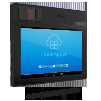 FBI certified portable biometric tablet