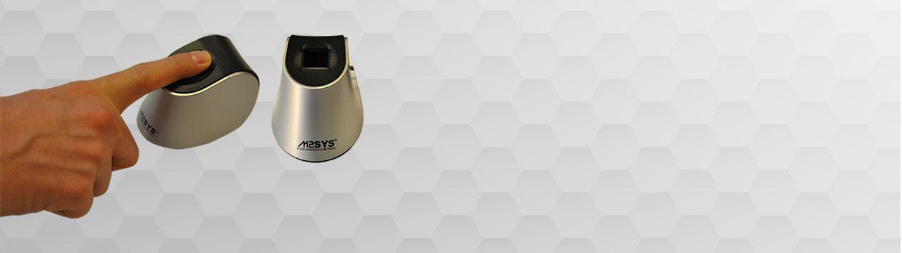 Compact, Ergonomic Single Fingerprint Recognition Technology